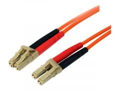 StarTech.com Câble patch à fibre optique duplex 50/125 multimode 1 m LC