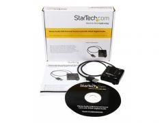 StarTech.com Carte Son Externe USB avec sortie SPDIF Audio Numérique