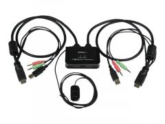StarTech.com Switch KVM USB HDMI à 2 ports