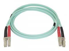 StarTech.com Câble à fibre optique OM4 duplex multimode LC LC