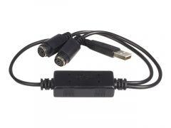 StarTech.com Adaptateur clavier et souris USB vers PS2