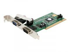 StarTech.com Carte PCI avec 2 Ports Série DB-9 RS232