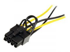 StarTech.com Câble adaptateur d'alimentation SATA vers carte vidéo PCI Express 8broches de 15cm