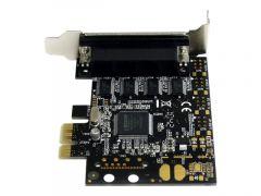 StarTech.com Carte PCI Express avec 4 Ports DB-9 RS232