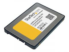 "StarTech.com Boîtier convertisseur SSD SATA vers Mini SATA 2,5"""