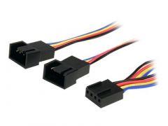 StarTech.com Câble répartiteur en Y pour ventilateurs 4 broches de 31 cm