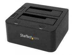 StarTech.com Station d'accueil USB 3.0 pour 2 disques durs SATA III de 2,5 ou 3,5