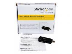 StarTech.com Lecteur externe de cartes mémoires multimédia USB 3.0