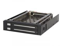 """StarTech.com Rack amovible 3.5"""" sans tiroir pour 2 disques durs 2.5"""""""