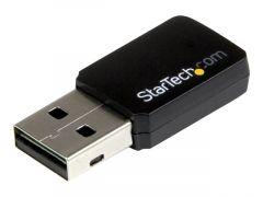 StarTech.com Mini adaptateur USB 2.0 / Carte réseau sans fil AC600 double bande