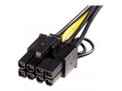 StarTech.com Câble adaptateur d'alimentation PCI Express à 6 broches vers 8 broches de 15 cm