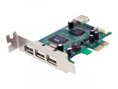 StarTech.com Carte contrôleur PCIe à 4 ports USB 2.0