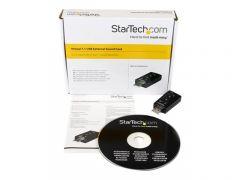 StarTech.com Carte son externe USB vers audio stéréo avec contrôle de volume