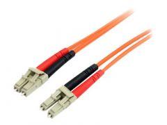 StarTech.com Câble patch à fibre optique duplex 62,5/125 multimode 2 m LC